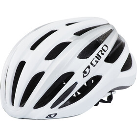 Giro Foray Fietshelm, white/silver